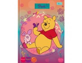Caderno Urso Pooh Brochura Capa Dura Top Pequeno  96 Fl