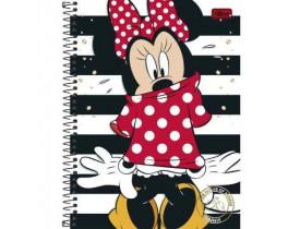 Caderno Minnie 1 Materia Universitário 96 Folhas Tilibra