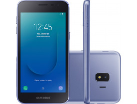 "Smartphone Samsung Galaxy J2 Core 16GB Dual Chip Android 8.1 Tela 5"" Quad-Core 1.4GHz 4G Câmera 8MP - Prata"