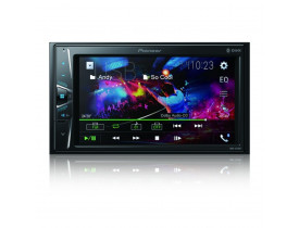 "Central Multimidia Pioneer DMH-G228BT 2 Din 6,2"" Touch BT USB AUX"