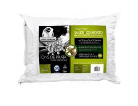 Travesseiro Saúde E Conforto Fibra De Poliéster Siliconizada