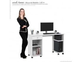 Mesa Para Computador Million  - Branco