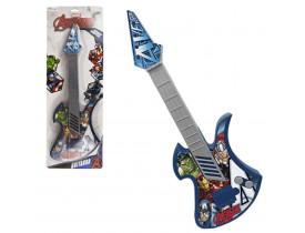 Guitarra Acustica Vingadores/Avengers Grande 42cm Na Cartela