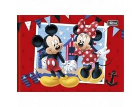 Caderno Brochura Cd Desenho Minnie  40 Folhas  Tilibria