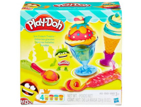 Kit Sundae Massinha De Modelar Play Doh Sorvetes Deliciosos - Hasbro B1857