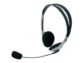 Fones De Ouvido C/Microfone Redemoinho Headset Pto Bright/Maxell