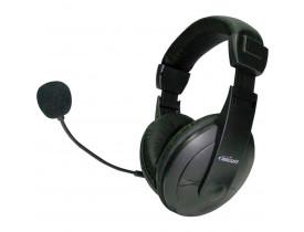Fone De Ouvido Com Microfone Vulcao Headset C/Vol. Ajust. Bright/Maxell