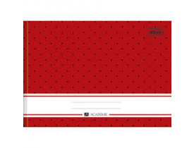 Caderno Desenho Brochura 1/4  Capa Dura 40 Folhas Académie Tilibra