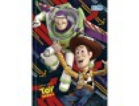 Caderno Brochura Capa Dura Top 1/4 Toy Story Woody e Buzz Lightyear 96 Folhas Brochurão