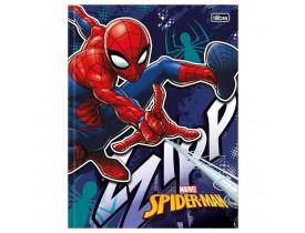 Caderno Brochura Spider Man - Azul Escuro - 96 Folhas - Tilibra