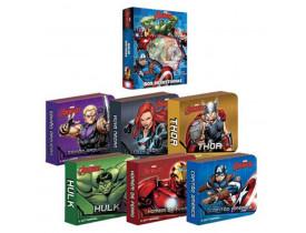 Foto 1 - Box De Historias Vingadores Com 6 Livros
