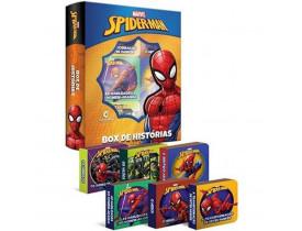 Box De Histórias Com 6 Livros Spider Man