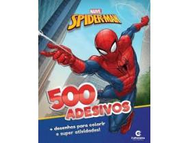 Spider-Man 500 Adesivos Marvel - Culturama 270001