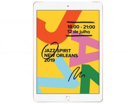 """iPad 7 Apple MW6D2BZ/A 32GB, Tela Retina 10,2"""", Wi-Fi, 4G, Bluetooth, Câmera de 8 MP e Processador A10 Fusion - Dourado"""