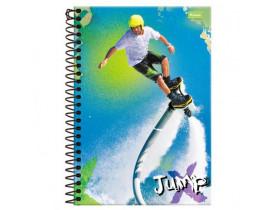 Caderno Jump  Flyboard  1 Matéria   96 Folhas   Foroni