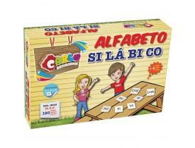 Brinquedo Pedagogico Madeira Alfabeto Silabico 150 Pecas Carlu Unidade