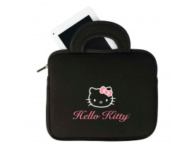 """Tablet DL Hello Kitty Branco com Tela 7"""", 4GB, Wi-Fi, 2 Câmeras Integradas, Suporte à Modem 3G, Android 4.4, Processador Dual Core e Bolsa Protetora"""