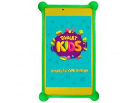 """Tablet DL Kids C10 Branco com Tela de 7"""", 8GB, Câmera, Wi-Fi, Android 7.1, Processador Quad Core e Capa Protetora"""