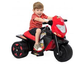 Ban Moto Elétrica Preta 6V