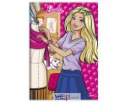 Caderno  Brochura  1/4 Capa Dura  Barbie  96 Folhas