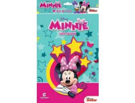 Livro Para Ler E Colorir Minnie Disney Com Giz De Cera Culturama