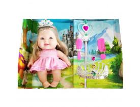 Boneca Bee Baby Princess C/ Acessórios - Bee Toys