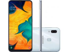 Smartphone Samsung Galaxy A30 64GB Dual Chip Android Branco