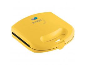 Sanduicheira Minigrill Antiaderente Amarela - Cadence Easy Meal Grill Linha Colors San234
