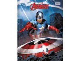 Caderno Foroni Brochurão 96 Folhas Avengers Ref 01
