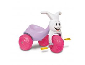 Triciclo Bandeirante Europa Gatinha Rosa
