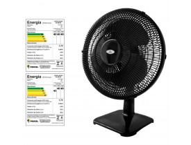 Ventilador De Mesa Oscilante Soft 40cm Preto 127V - 564120 - VENTI DELTA