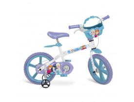 Bicicleta Infantil Aro 14 Frozen Disney - Bandeirante