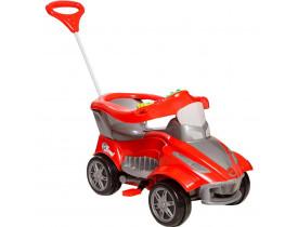 Mini Carro Infantil Calesita Road 2 Em 1 Pedal E Passeio  Vermelho
