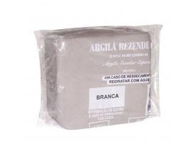Argila Rezende Escolar 001 Kg Branca Kit Com 14