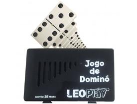 Domino Leoplay 28 Pecas De Osso