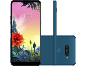 """Smartphone LG K50s 32GB Dual Chip Android 9.0 Tela 6.5"""" Octa Core 2.0GHz 4G 13MP + 5MP + 2MP - Azul"""