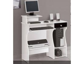 Mesa De Computador Marina - Branco Gloss - Patrimar