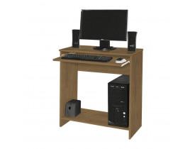 Mesa De Computador China Amêndoa Toque - Móveis Primus
