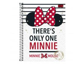 Caderno Universitário Minnie Mouse 10 Matérias Tilibra