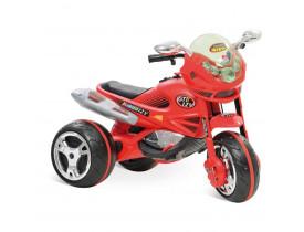 Super Moto Elétrica GT Turbo Vermelha EL-12v