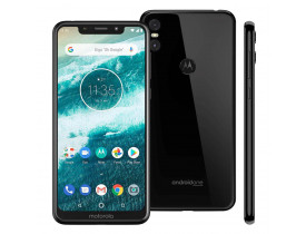 Celular Motorola One Xt1941 64gb Tela 5,9 Dual Android One Preto