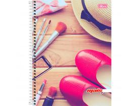 Caderno Espiral D+ Girl 96 Folhas  Tilibra