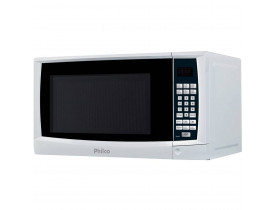 Microondas Philco PMS24 20 Litros Com Tecla Kids Branco